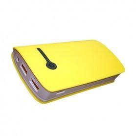 POWERBANK PARA TABLET / SMARTPHONE  8400 MAH 2A COLOR AMARILLO