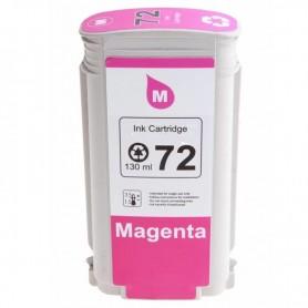 CARTUCHO TINTA COMPATIBLE HP 72 (C9372A) MAGENTA (130 ML)