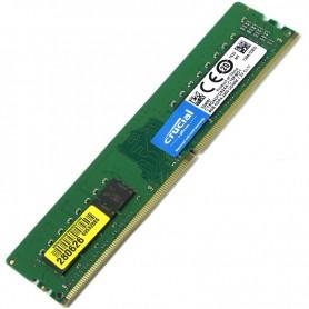 8GB MEMORIA DDR-4 2400MHZ PC4-19200 CT8G4DFS824A SINGLE RANK CRUCIAL