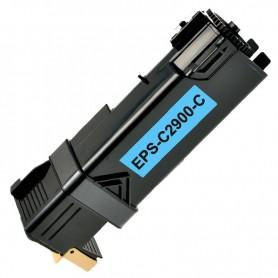 TONER COMPATIBLE EPSON ACULASER C2900/CX29 (C13S050629) CYAN (2500 COPIAS)