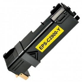 TONER COMPATIBLE EPSON ACULASER C2900/CX29 (C13S050627) AMARILLO (2500 COPIAS)