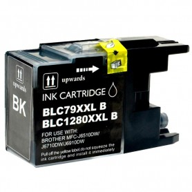 CARTUCHO COMPATIBLE BROTHER LC1280XL NEGRO (72.6 ML)