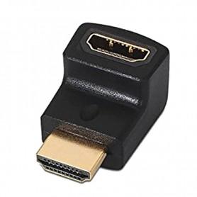NANOCABLE ADAPTADOR HDMI A HDMI  ACODADO A/H-A/M 10.16.0011