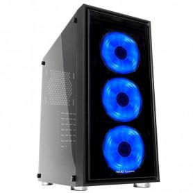 CAJA ATX MARS GAMING MC7 CRISTAL TEMPLADO RGB S/FA