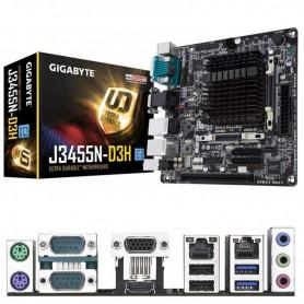 PLACA BASE GIGABYTE GA-J3455N-D3H MICRO INTEGRADO CELERON J3455 2*DDR3 SODIMM GIGALAN USB 3.1