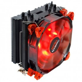 VENTILADOR CPU MARS GAMING MCPU3 MULTISOCKET INTEL / AMD RED LED LIGHTING