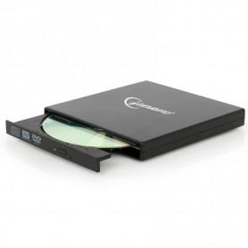 GEMBIRD REGRABADORA EXTERNA DVD±RW DVD-USB-02 SLIM NEGRA + LPI*
