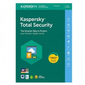 ANTIVIRUS KASPERSKY TOTAL SECURITY MULTIDEVICE 2019 PARA 5 DISPOSITIVOS
