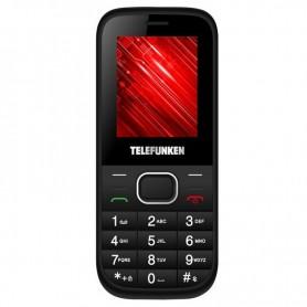 TELEFONO MOVIL TELEFUNKEN TM 9.1 CLASSY NEGRO 1.8'' DUAL SIM MICRO SD FM MP3 CAMARA BATERIA 800MAH + LPI*