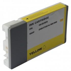 CARTUCHO TINTA COMPATIBLE PIGMENTADA EPSON T603400 AMARILLO (220 ML)