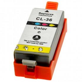 CARTUCHO TINTA COMPATIBLE CANON CLI-36 (1511B001) COLOR (11.8ML)