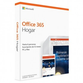 MICROSOFT OFFICE 365 1 A#####O DE SUSCRIPCIÓN PARA 6 USUARIOS (6PC/MAC).