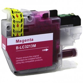 CARTUCHO COMPATIBLE BROTHER LC3213 / LC3211 MAGENTA (400 PAG)