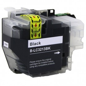 CARTUCHO COMPATIBLE BROTHER LC3213 / LC3211 NEGRO (400 PAG)