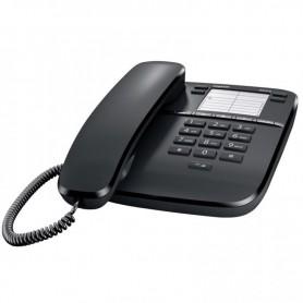 TELEFONO FIJO ANALOGICO GIGASET DA310 4 TECLAS PROGRAMABLES / 3 MELODIAS COLOR NEGRO