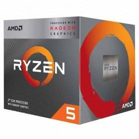 PROCESADOR AMD RYZEN 5 3400G 3.7GHZ  SOCKET AM4 BOX