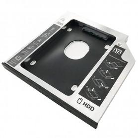 3GO ADAPTADOR CADDY HDDCADDY95 HDD/SSD A PORTATIL 9.5MM