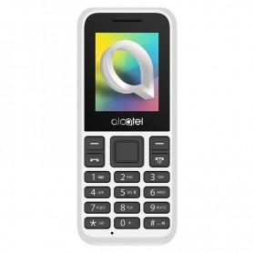 TELEFONO MOVIL ALCATEL 1066D BLANCO 1.8'' DUAL SIM FM MP3 CAMARA BATERIA 400MAH + LPI*
