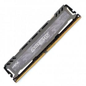 16GB MEMORIA CRUCIAL DDR-4 2666MHZ BALLISTIX SPORT LT GREY BLS16G4D26BFSB