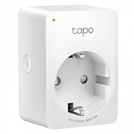 TP-LINK ENCHUFE INTELIGENTE WI-FI TAPO P100 (COMPABITLE GOOGLE ASSISTANT Y ALEXA)