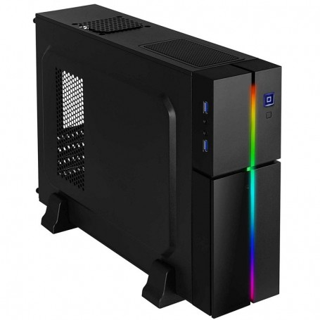 CAJA MATX AEROCOOL PLAYA SLIM RGB S/F.A