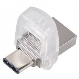 PENDRIVE 64GB KINGSTON DATATRAVELER MICRODUO USB 3.1 TYPE C + LPI*