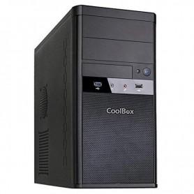 CAJA MATX COOLBOX M55 2XUSB 3.0 SIN F/A NEGRO