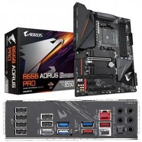 PLACA BASE GIGABYTE B550 AORUS PRO S-AM4 4DDR4 128GB HDMI GBLAN 5USB3.2 6SATA3 2M.2 ATX