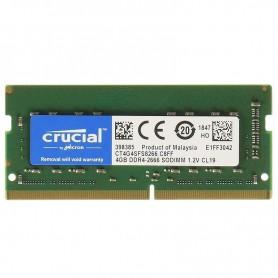 4GB MEMORIA SODIMM DDR-4 2666MHZ CT4G4SFS8266 CRUCIAL