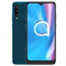 SMARTPHONE ALCATEL 1SE OC 1.6GHZ 4GB 64GB 6.22'' HD+ (1520X720) CAM13+5+2/5MPX DUAL SIM ANDROID 9 4000 MAH VERDE + LPI*