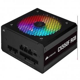 FUENTE ALIMENTACION MODULAR CORSAIR CX550F RGB 80+ BRONZE 550W