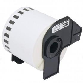 ETIQUETA REMOVIBLE CONTINUA INK-PRO® COMPATIBLE CON BROTHER DK-44205 62MM X 15.24M