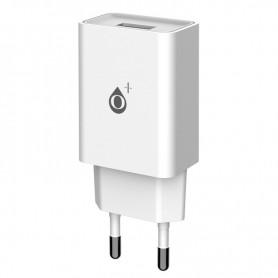 ONE+ CARGADOR A6171 WILSON  1 PTO USB 2.4A SIN CABLE BLANCO
