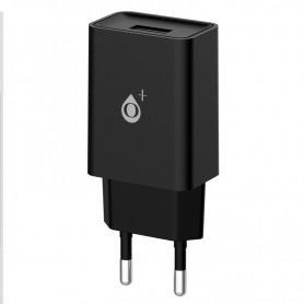 ONE+ CARGADOR A6171 WILSON  1 PTO USB 2.4A SIN CABLE NEGRO