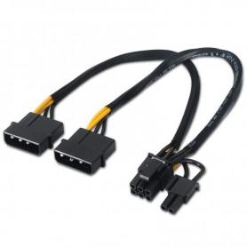 AISENS CABLE ALIMENTACION 2 MOLEX A PCI EXPRESS 8 PINES A131-0165 20 CM