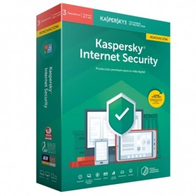 ANTIVIRUS KASPERSKY INTERNET SECURITY MULTIDEVICE 2020 PARA 3 DISPOSITIVOS - LIC. RENOVACION