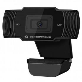 WEBCAM CONCEPTRONIC AMDIS03B HD 720P 68º 30FPS MIC INTEGRADO
