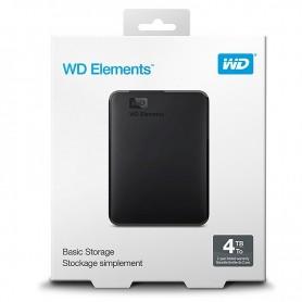 DISCO DURO EXTERNO 2,5'' WESTERN DIGITAL WDBU6Y0040BBK-WESN 4TB + LPI*