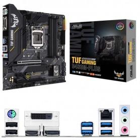 PLACA BASE ASUS TUF GAMING B460-PLUS S-1200 4DDR4 128GB VGA+DVI+HDMI GBLAN RAID 0,1,5,10 6USB3.2 6SATA3 1M.2 MATX