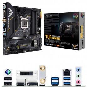 PLACA BASE ASUS TUF GAMING B460-PLUS WIFI S-1200 4DDR4 128GB VGA+DVI+HDMI GBLAN RAID 6USB3.2 6SATA3 1M.2 MATX