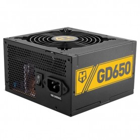 FUENTE ALIMENTACION NOX HUMMER GD650 650W 80+ GOLD FAN 14CM