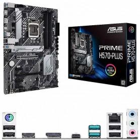 PLACA BASE ASUS PRIME H570-PLUS 4DDR4 128GB GBLAN 6SATA6 2M.2 2USB3.2 4USB2.0 ATX