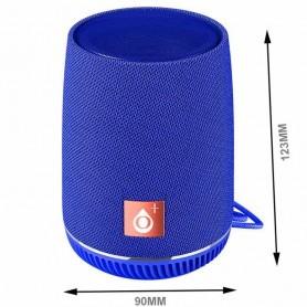 ONE+ ALTAVOZ BLUETOOTH MINI NF4065 5W TWS / FM / USB / MANOS LIBRES / BATERIA 500MAH AZUL