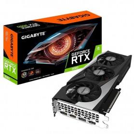 TARJETA GRAFICA GIGABYTE GEFORCE RTX 3060 GAMIN OC 12GB DDR6 2 X HDMI + 2 X DISPLAYPORT