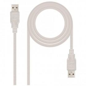 NANOCABLE CABLE USB M-M 10.01.0303 1,8M