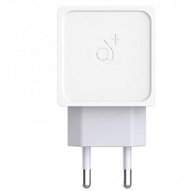 ONE+ CARGADOR A5335 2 PTOS USB 2.4A (SIN CABLE) BLANCO / GRIS