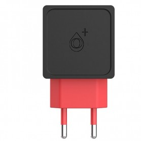 ONE+ CARGADOR A5335 2 PTOS USB 2.4A (SIN CABLE) NEGRO / ROJO