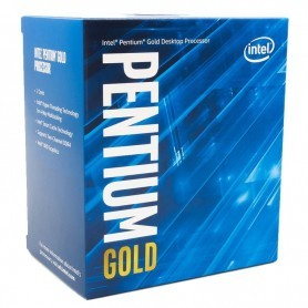 PROCESADOR INTEL PENTIUM GOLD G6400 4.0GHZ 4MB S-1200
