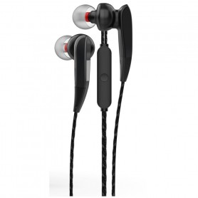 ONE+ AURICULARES CON MICROFONO THE SHY NC3145 MAGNETICOS NEGRO