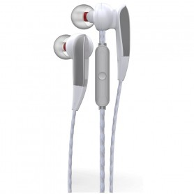 ONE+ AURICULARES CON MICROFONO THE SHY NC3145 MAGNETICOS PLATA